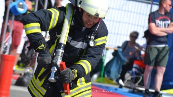 Firefighter Combat Challenge in Bremerhaven