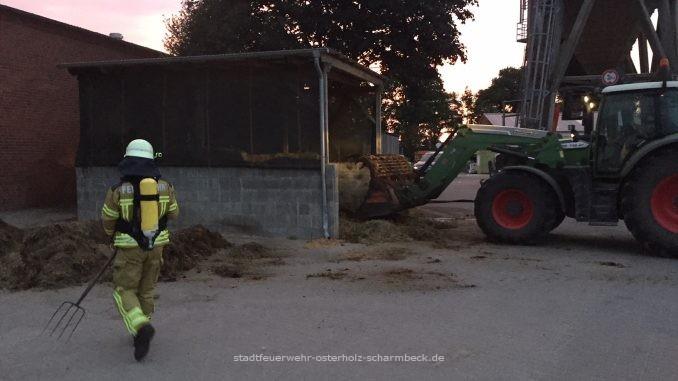 Misthaufenbrand 29.05.2018 Pennigbüttel