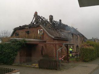 Einsatz - Kleinbrand - Buschhausen - Osterholz-Scharmbeck