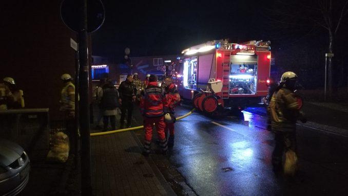 Einsatz - Feuer - Gartenhüttenbrand - Osterholz-Scharmbeck