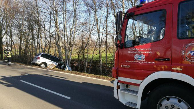 Einsatz - Verkehrsunfall - Teufelsmoor - Osterholz-Scharmbeck