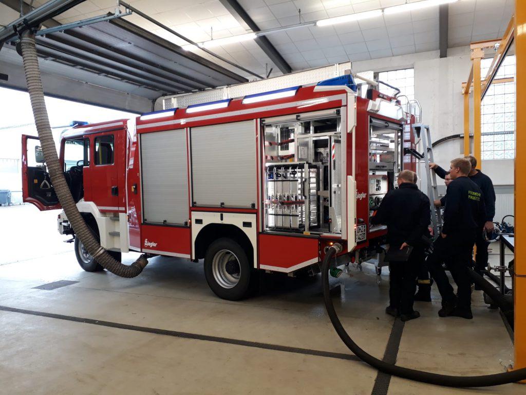 Ofw Pennigbüttel - TLF3000 - Pumpenprüfstand