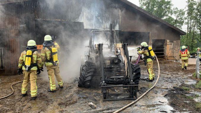 Feuer - Einsatz - Ofw Hülseberg - Freiwillige Feuerwehr Osterholz-Scharmbeck