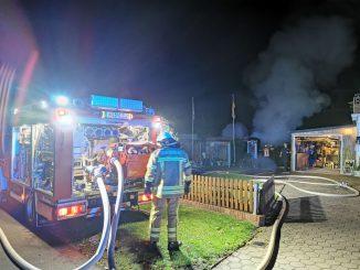 Einsatz - Feuer - Freißenbüttel - Feuerwehr Osterholz-Scharmbeck